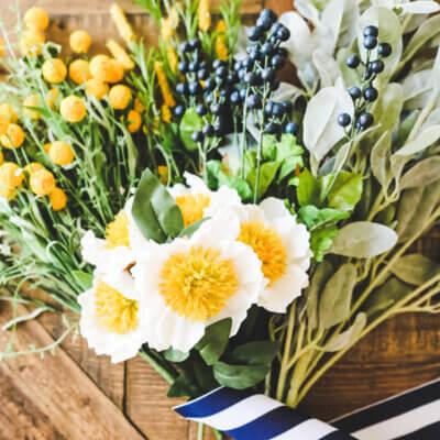 Foolproof Florals & Easy DIY Wreath